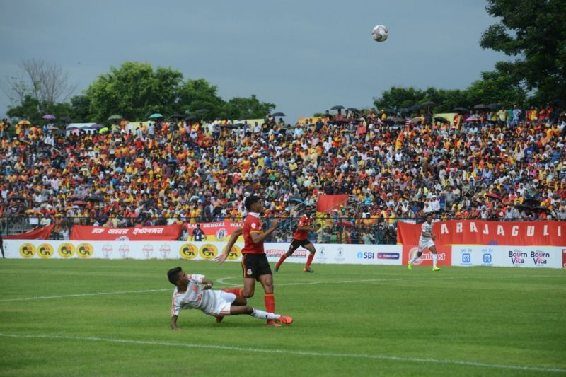 Players were dissatisfied with the condition of the ground