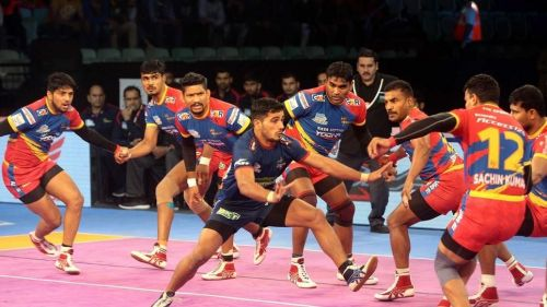 U.P. Yoddha had defeated Haryana Steelers by 1 point in the previous encounter played between the two teams
