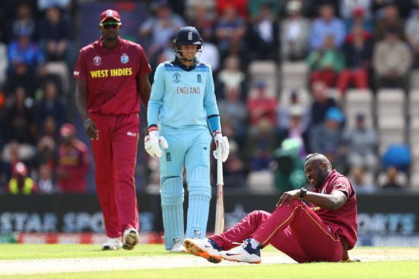 Bowling consistently for the West Indies during the 2019 Cricket World Cup aggravated Andre Russell