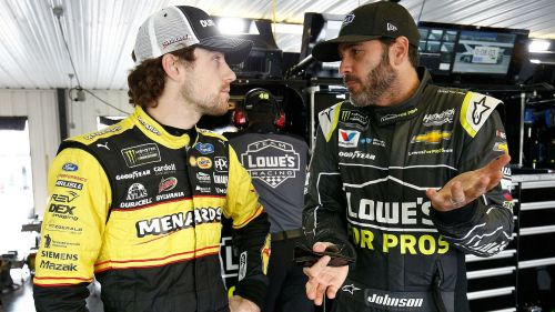 Jimmie Johnson still wants apology from Ryan Blaney, who says 'I