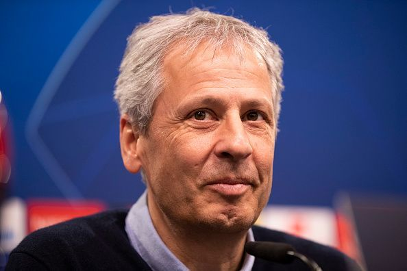 Lucien Favre took Borussia Dortmund to within two points of the Bundesliga title last season