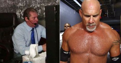Why did Vince McMahon choose Dolph Ziggler to face Goldberg?