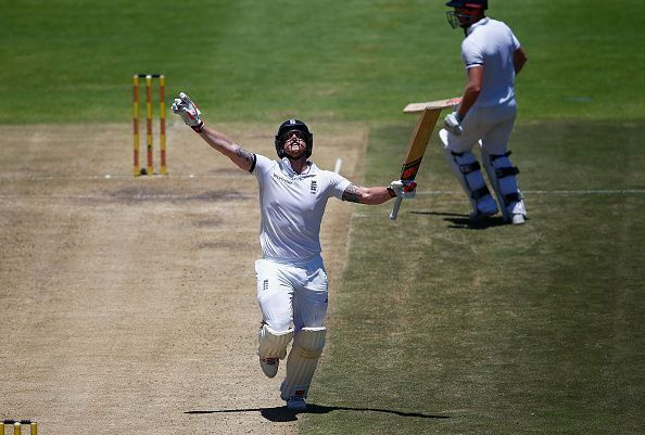 This remains the only double hundred of Stokes