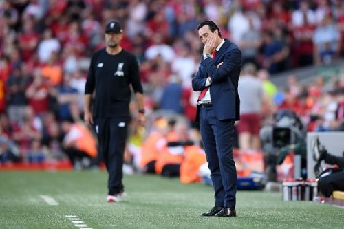 Emery endured a frustrating evening's watch, having played into Liverpool's strengths with his decisions