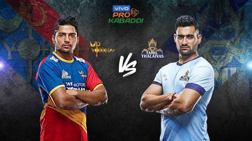 The ankle-hold specialist Nitesh Kumar takes on the 'Showman' Rahul Chaudhari tonight.