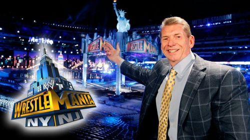 Vince McMahon, introducing us to WrestleMania 29