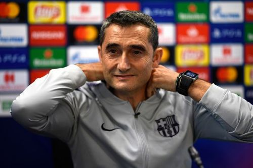 Ernesto Valverde would be happy with his team's performance