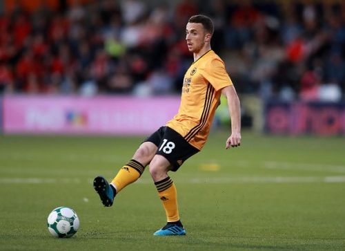 Diogo Jota was on the scoresheet on both occasions when Manchester United visited last season