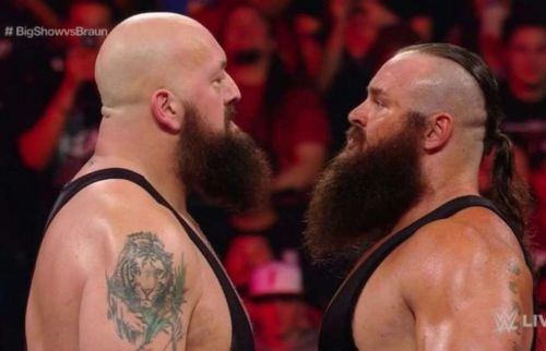 Their match on RAW ended with the ring imploding.