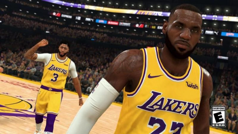 The first look at NBA 2K20 reveals some interesting details