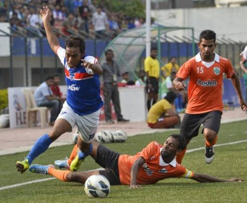 The speedster was at his peak in Bengaluru FC