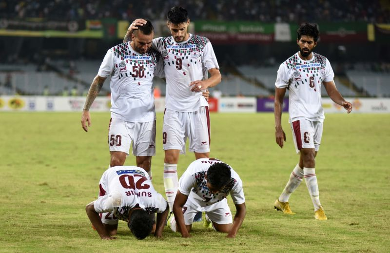 Mohun Bagan scored a couple of goals in extra-time to snatch a well-deserved win