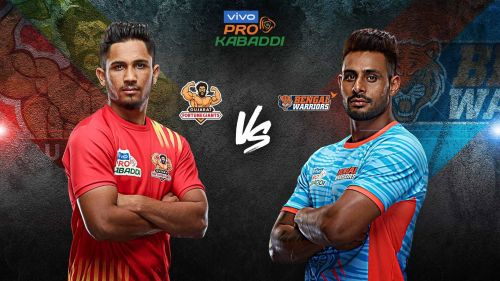 Bengal Warriors have never beaten Gujarat Fortune Giants in the past two seasons. Will this record change tonight?