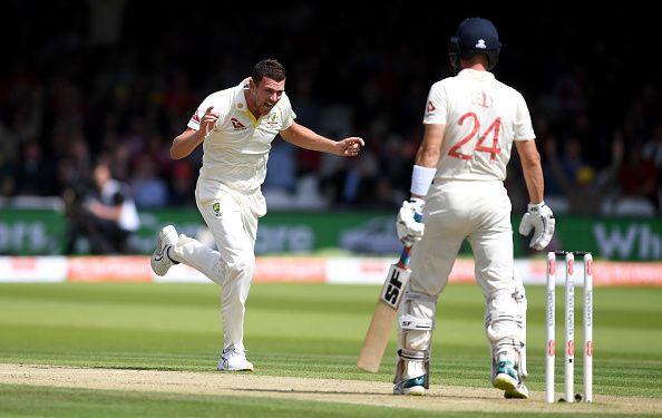 Josh Hazlewood was the pick of the Aussie bowlers