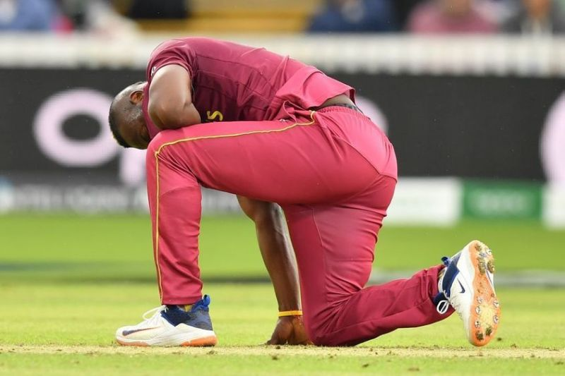 Jason Mohammed has been called up to replace the injured Andre Russell in West Indies' T20I squad for the first two matches