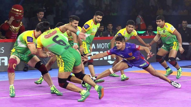 Naveen Kumar broke Pardeep Narwal