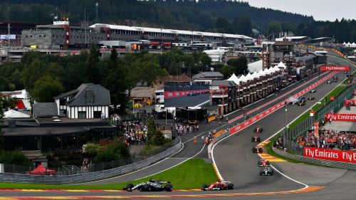 The Spa-Francorchamps Circuit is postcard-perfect in its magnificence