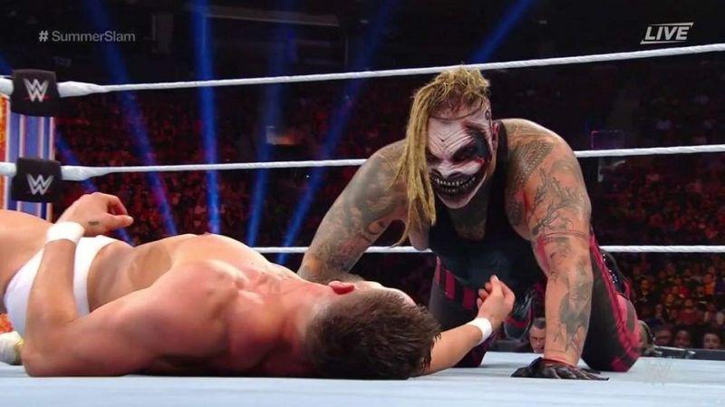 The Fiend defeated Finn Balor at SummerSlam