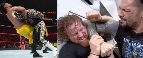 All of these matches were expected to take place at SummerSlam