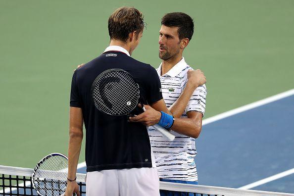 Novak Djokovic loses to Daniil Medvedev in Cincinnati semifinals