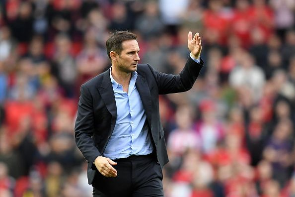 Frank Lampard had a baptism by fire in his Premier League debut.