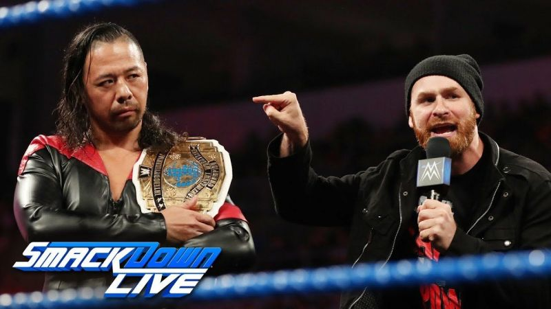 Nakamura and Sami Zayn forged an alliance recently.