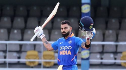 Virat Kohli scored back to back centuries vs West Indies