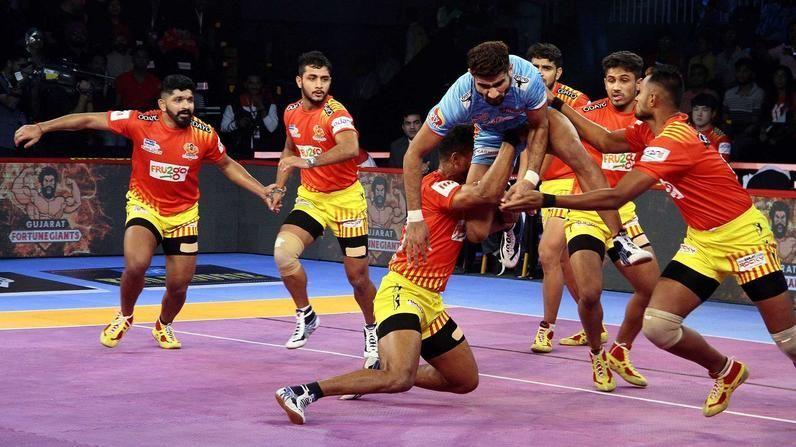 Pro Kabaddi 2019, Match 41: Gujarat Fortune Giants v Bengal