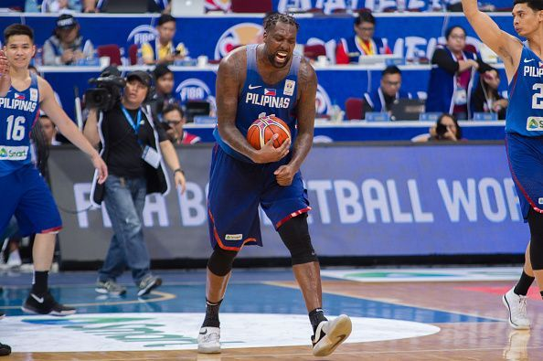 Andray Blatche in one of his stints with Gilas Pilipinas