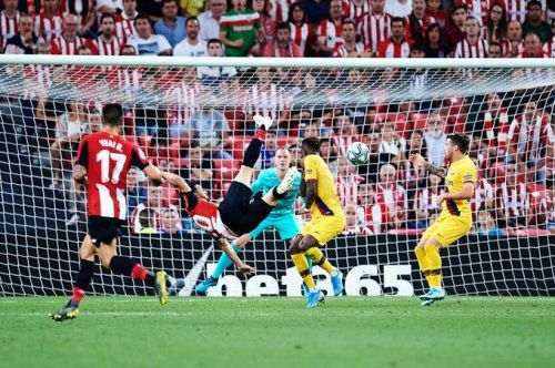 Barcelona lost their opening La Liga game to Athletic Bilbao on Friday