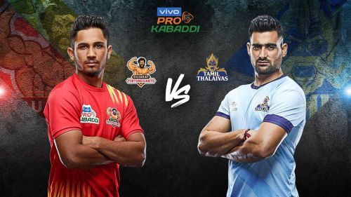 Gujarat Fortune Giants battle Tamil Thalaivas to kick start their home leg with a win.