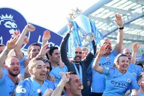 Pep Guardiola's Manchester City are back to back Premier League Champions.