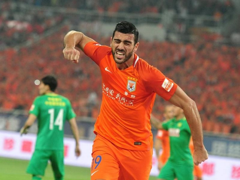 Pelle is one of two players from China in the Top 20