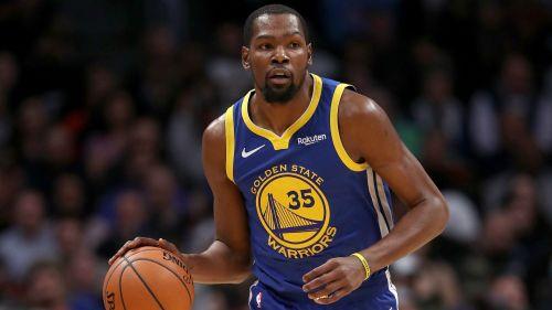 Kevin Durant Golden State Warriors v Denver Nuggets NBA regular season 15012019
