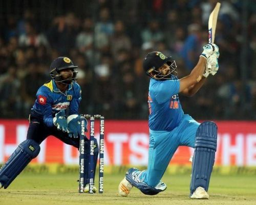 Rohit Sharma has 21 fifty-plus scores in T20I