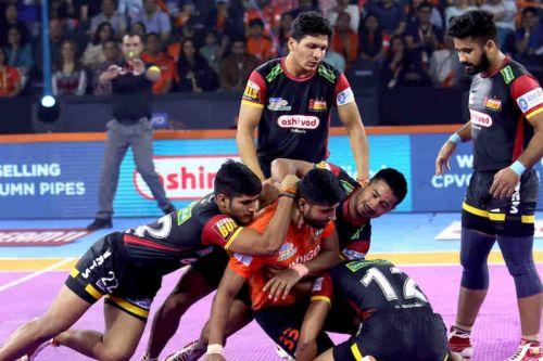 Bengaluru's defense has looked shaky at times.