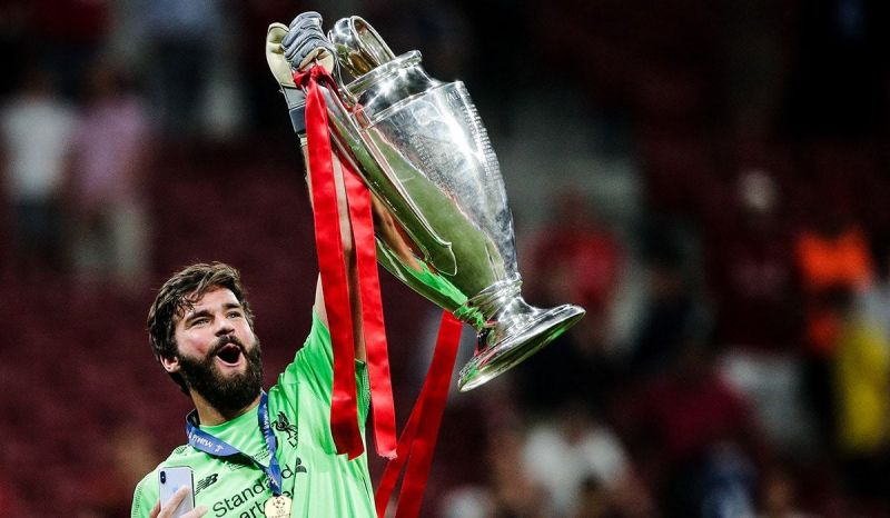 Alisson Becker enjoyed an outstanding debut season in England