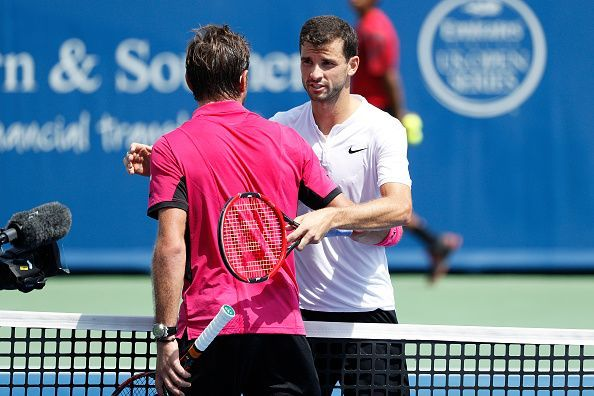Stan Wawrinka and Grigor Dimitrov will square off against each other in the opening round later today.