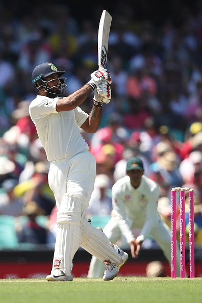 Hanuma Vihari opened the batting for India in Australia