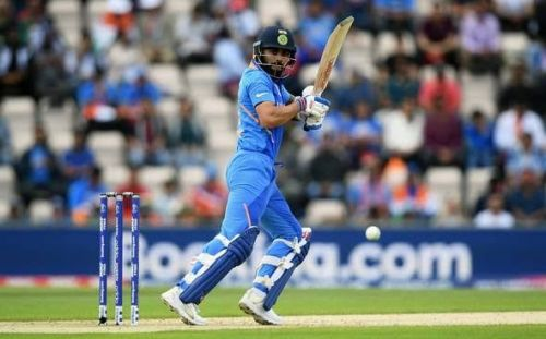 Even Virat Kohli struggled for timing