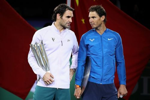 Federer beat Nadal in the final of 2017 Shanghai Masters