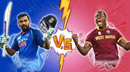 India vs West Indies: All set for the battle.