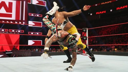 Andrade vs Rey Mysterio should have been booked for SummerSlam
