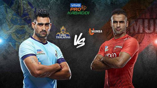 Tamil Thalaivas look to even the odds against U Mumba in their head to head record.