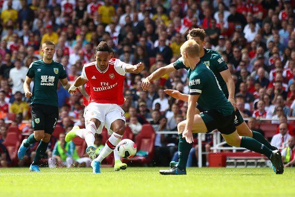 Aubameyang was brilliant against Burnely - Premier League