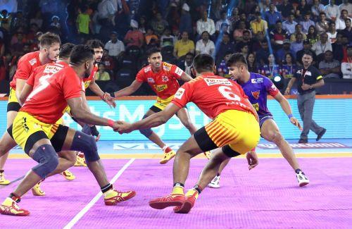 Gujarat put up an all-round show against Delhi