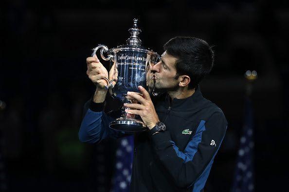 Novak Djokovic is the defending champion