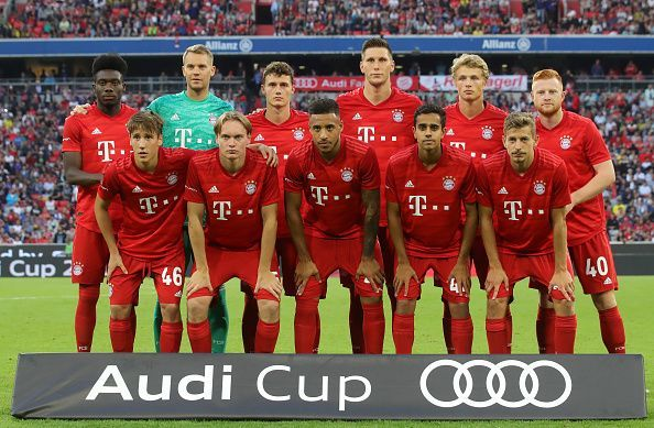 Bayern Munich have won the most Bundesliga titles and are the 7-time defending champions