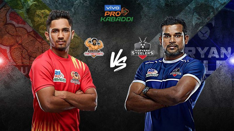 Gujarat Fortune Giants look to even their head to head record versus Haryana Steelers tonight.