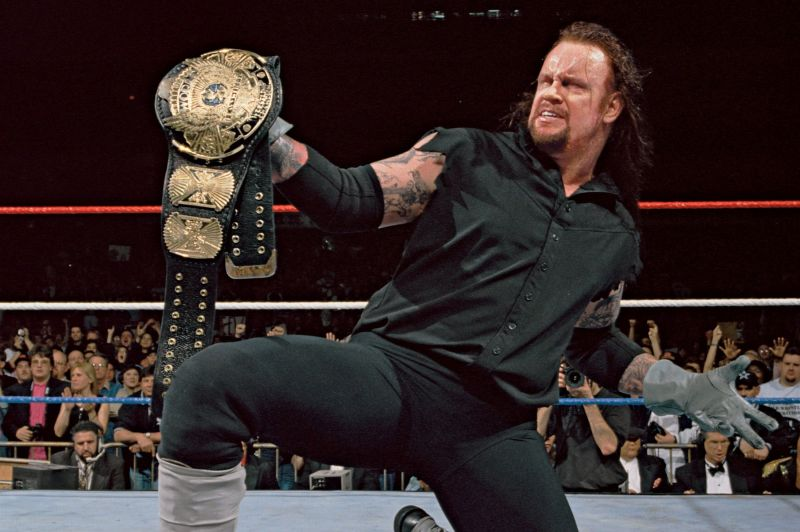 The Undertaker: WWE made the decision to give the Deadman an extended run with the title